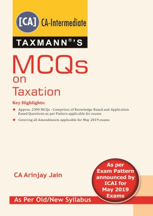 CA Final MCQs on Taxation Old and New Syllabus By Arinjay Jain