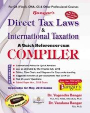 CA FINAL Direct Tax Laws and International Taxation Old and New Syllabus both By Dr. Yogendra Bangar & Dr. Vandana Bangar