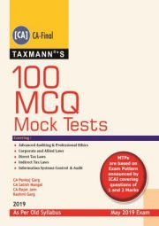 CA Final 100 MCQs Mock Tests Old Syllabus Applicable for May 2019 Exam
