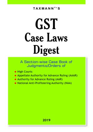 Buy GST Case Laws Digest
