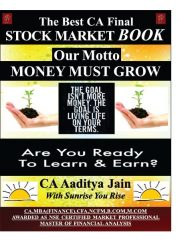 Stock market book By CA Aditya Jain