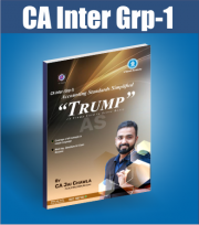 CA INTER SUMMARY BOOK TRUMP ACCOUNTING STANDARDS (GROUP1) BY CA JAI CHAWLA
