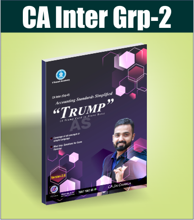 CA INTER SUMMARY BOOK TRUMP ACCOUNTING STANDARDS (GROUP2) BY CA JAI CHAWLA