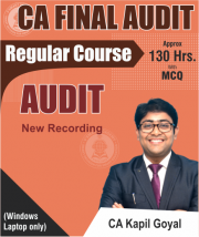 CA FINAL AUDIT REGULAR VIDEO LECTURES REGULAR FULL COURSE BY CA KAPIL GOYAL