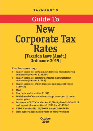 Buy Guide To New Corporate Tax Rates