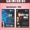 CA INTER IPC DIRECT TAX (DT) QUESTIONNAIRE+MCQS+CHARTS STUDY MATERIALS BY CA VIJAY SARDA