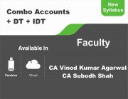 CA Inter Accounts + DT+ IDT (Regular Course) Combo BY CA Vinod Kumar Agarwal, CA Subodh Shah